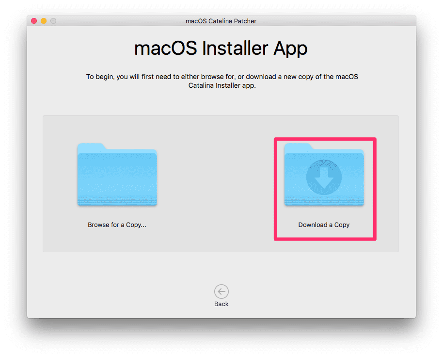 macOS Catalina Patcher 03