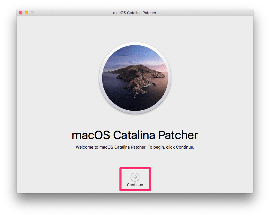 macOS Catalina Patcher 01