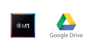M1搭載MacでGoogleドライブを使う