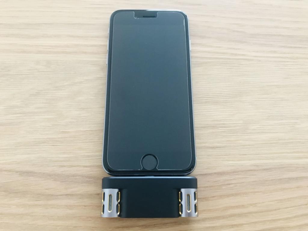 Langogo MiniをiPhone 6sに接続
