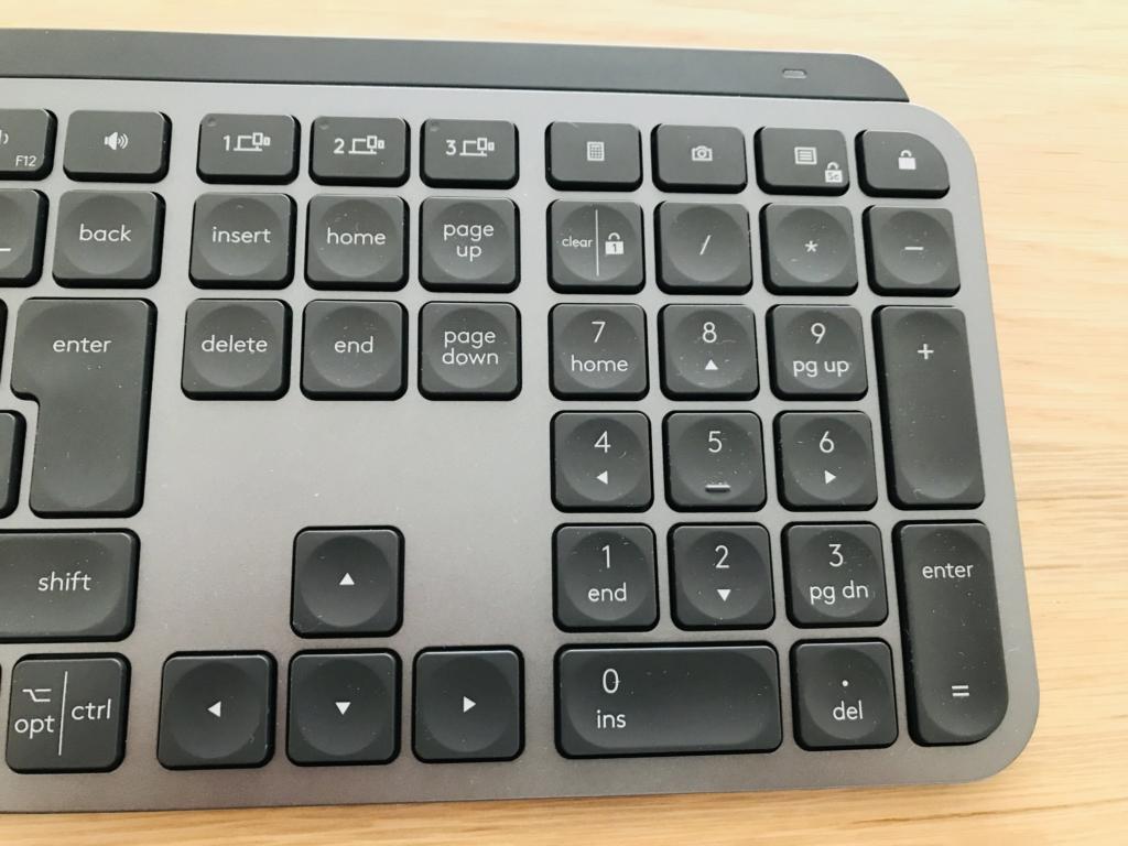 MX Keys KX800のテンキー
